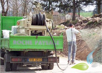 Hydroseeding paysagiste engazonnement hydraulique