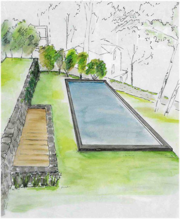 Plan architect Roche Paysage