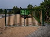 Pose de clôtures et portail