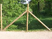 Fourniture et pose de clôtures dans un parc - Haute Loire