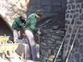 Mur maçonner au Puy-en-Velay