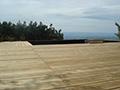 Terrasse en bois à Blavozy
