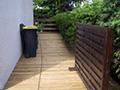 Terrasse en bois à Polignac