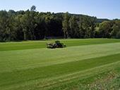 Engazonnement terrain de football de l'US Arsac en Velay