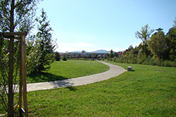 Entretien d'un parc d'Espaly