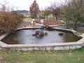 Bassin aquatique en dalle béton